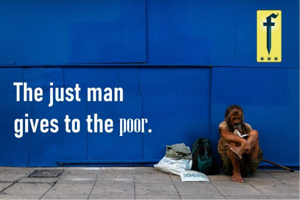 give to poor